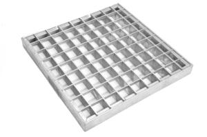 Стальная грязезащитная решетка, 500*1000 мм