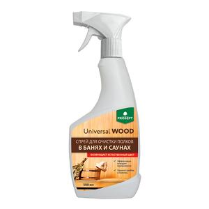 Cредство для очистки полков в банях и саунах PROSEPT Universal Wood