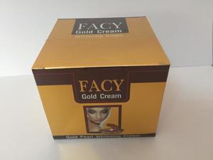 Отбеливающий крем с био-золотом и жемчужной пудрой Gold Pearl Whitening Cream, FACY