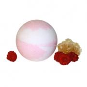 Бурлящий шарик для ванн Мёд и малина