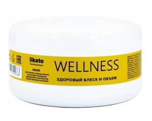 Маска для волос Likato WELLNESS (для объема и блеска)