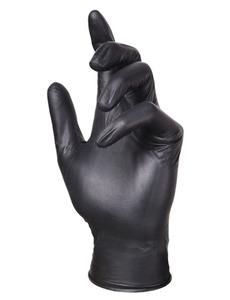 Перчатки нитриловые ADELE(черные)