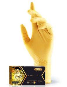 Перчатки нитриловые Adele(золотые)