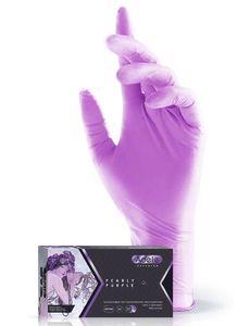 Перчатки нитриловые Adele (сиреневый перламутр)