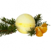 Бурлящий шарик для ванн Хвойная бомба