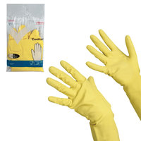 Перчатки латексные VILEDA Контракт (особо прочные)