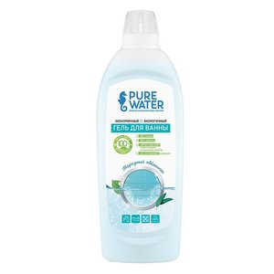 Экологичный гель для ванны Морозный эвкалипт Pure Water