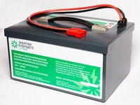 Аккумулятор 24V 100Ah для поломоечных машин и зарядное устройство 24V-20A