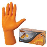 Перчатки нитриловые с удлиненной манжетой E-DUO