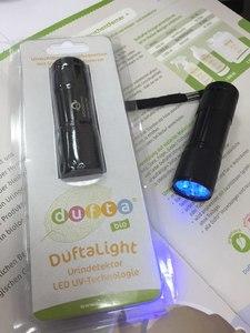 Светодиодный УФ фонарик - детектор мочи Dufta Light