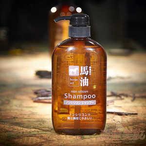 Cosme Station Шампунь с лошадиным маслом для поврежденных и ломких волос