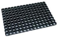 Резиновое грязезащитное покрытие ДОМИНО 500*1000*16 мм