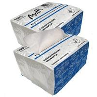Салфетки косметические MOTTI 2-сл, 200 л., белые