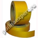 Желтая- светоотражающая лента