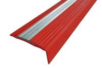 Полоса против скольжения NoSlipper угол резиновый накладной угол-порог против скольжения длина 2,7 м