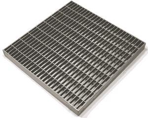 Стальная оцинкованная прессованная решетка, 490*990 мм