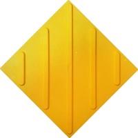 Тактильная плитка ПУ (диагональ)