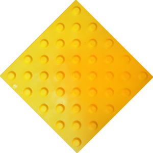 Тактильная плитка ПВХ (конусы)