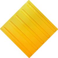 Тактильная плитка ПУ (полоса)