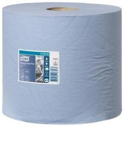 130052Tork Протирочная бумага в рулоне W1/W2 2-х сл.255м.