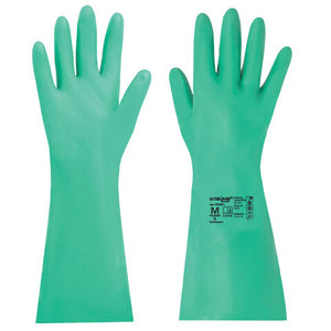Перчатки нитриловые, химически устойчивые, гипоаллергенные LAIMA EXPERT