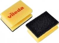 Губка VILEDA (черный абразив)