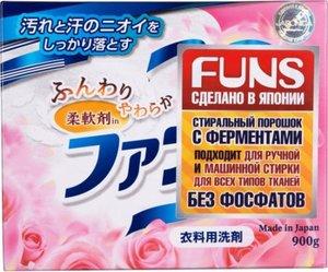 Стиральный порошок для всех типов тканей с цветочным ароматом DAIICHI FUNS(Япония)